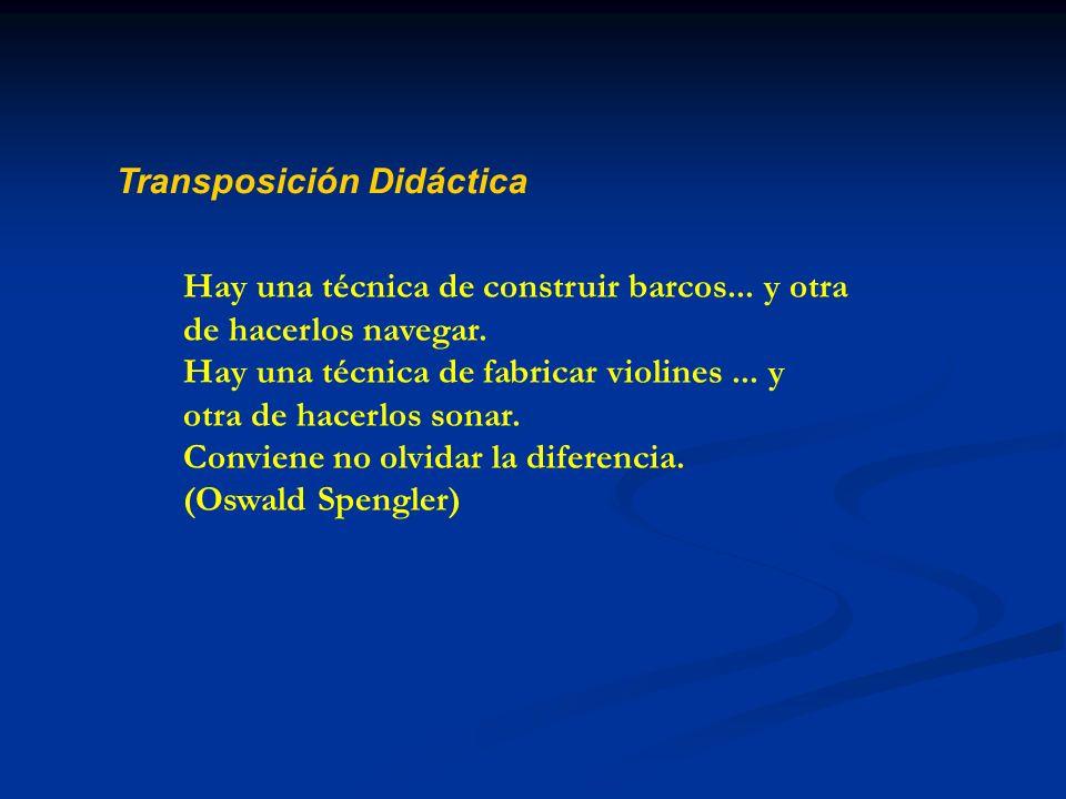 DISCIPLINA MAESTROESTUDIANTE PROBLEMA TRANSPOSICIÓN DIDÁCTICA EVALUACIÓN ENSEÑANZA CONTRATO DIDÁCTICO APRENDIZAJE YVES CHEVALLARD