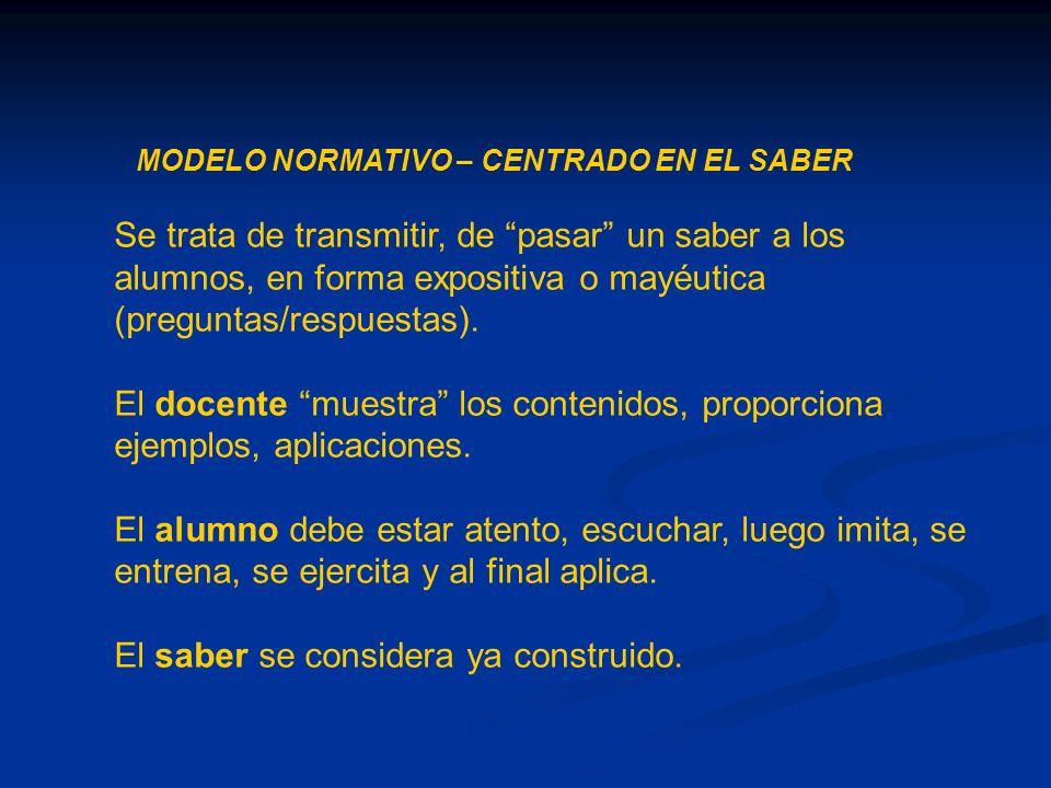 Enseñanza Saber específico AlumnoMaestro HERBART