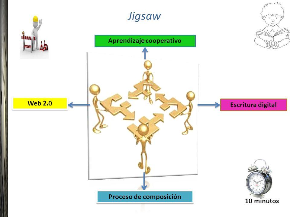 Jigsaw Aprendizaje cooperativo Proceso de composición Web 2.0 Escritura digital 10 minutos