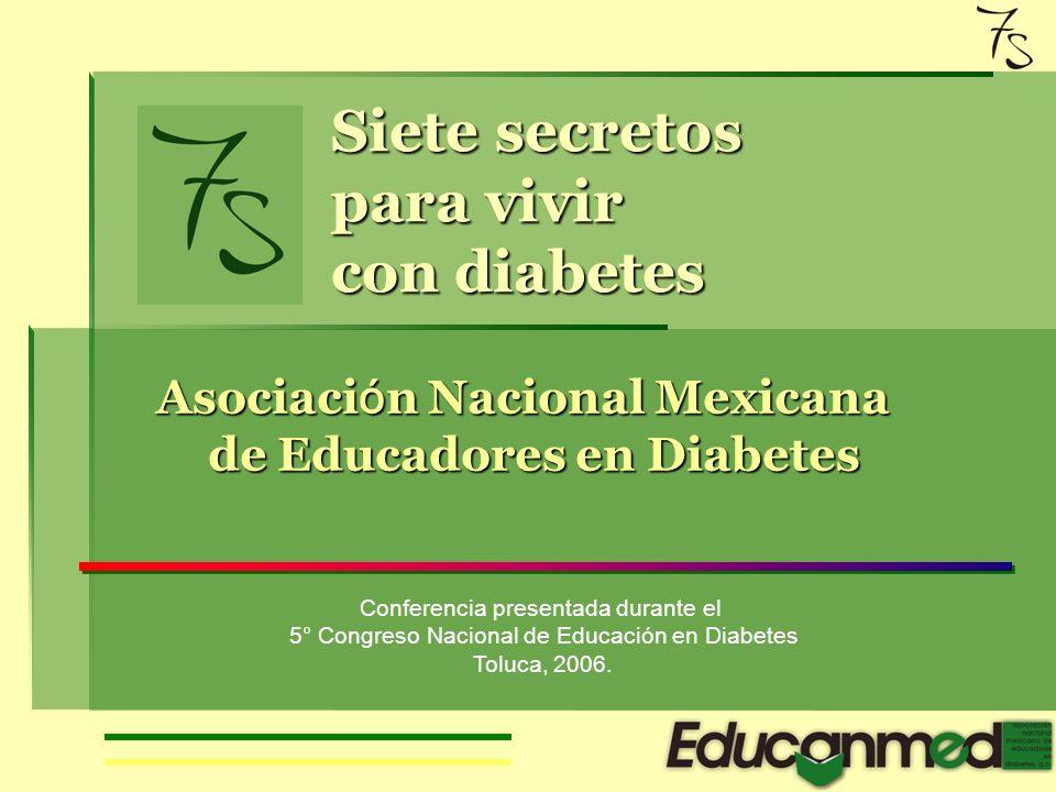 Criterios diagnósticos de diabetes 1.Síntomas de diabetes más glucosa casual en sangre mayor o igual a 200 mg/dl 2.Prueba de tolerancia a la glucosa 2h después de una carga con 75 gr de glucosa anhidra mayor o igual a 200 mg/dl 3.Glucosa plasmática después de ayuno de 8 horas mayor o igual a 126 mg/dl ADA.NOM 015SSA2-1994