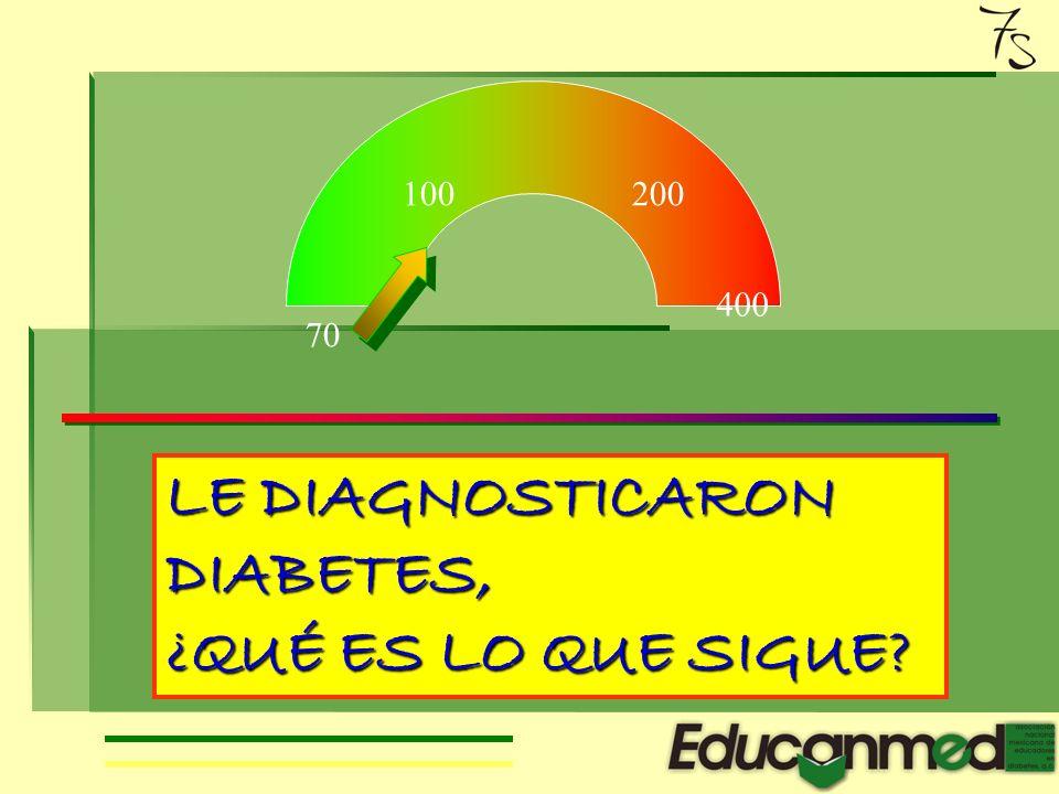 Asociaci ó n Nacional Mexicana de Educadores en Diabetes Siete secretos para vivir con diabetes Conferencia presentada durante el 5° Congreso Nacional de Educación en Diabetes Toluca, 2006.