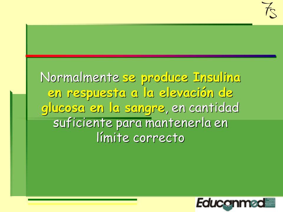 El páncreas es la parte de nuestro cuerpo que produce insulina, en unas células especiales llamadas células beta.
