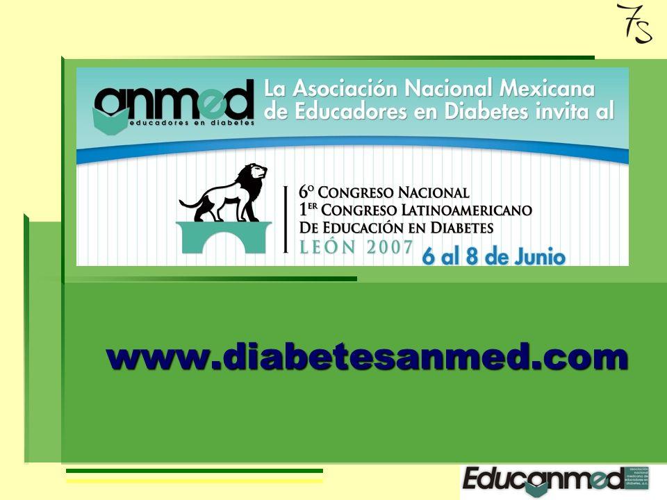 Conclusiones La diabetes implica cambios importantes en la vida de una persona, conocimientos y habilidades nuevas que debe adquirir para mantener el balance de su glucosa sanguínea, su salud y por lo tanto su calidad de vida.