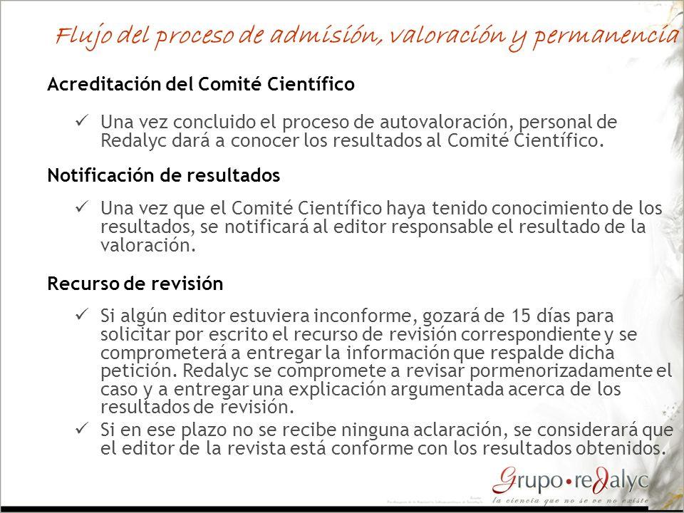 Recurso de revisión Si algún editor estuviera inconforme, gozará de 15 días para solicitar por escrito el recurso de revisión correspondiente y se com