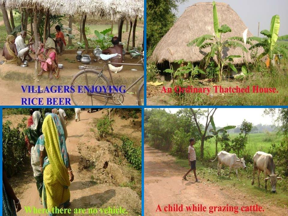 Mother giving bath Algunas realidades de las aldeas de un vistazo