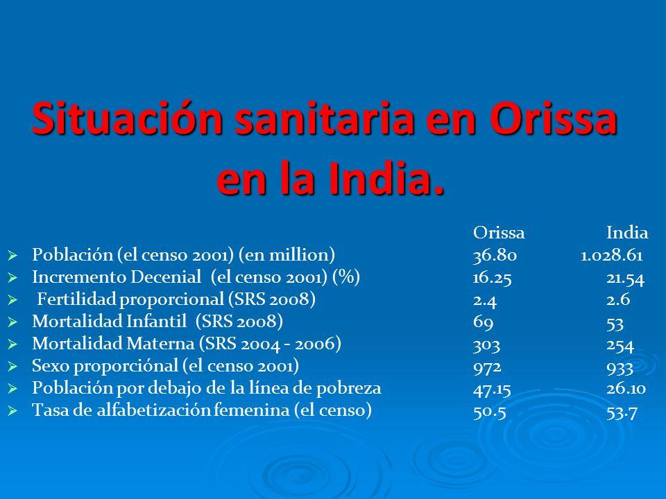 El objetivo básico del ministerio sanitario de la iglesia en Orissa es proporcionar servicios de calidad a un precio razonable sin distinción de casta, credo, ni religión, priorizando a los mas pobres y olvidados.