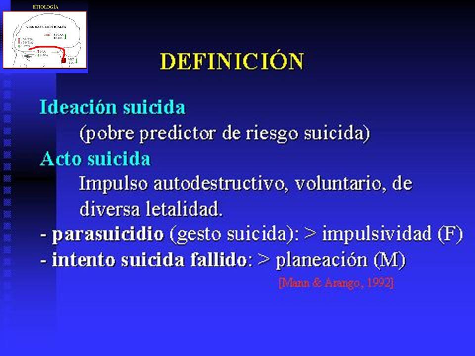 ANTIDEPRESIVOS: RIESGO DE SUICIDIO