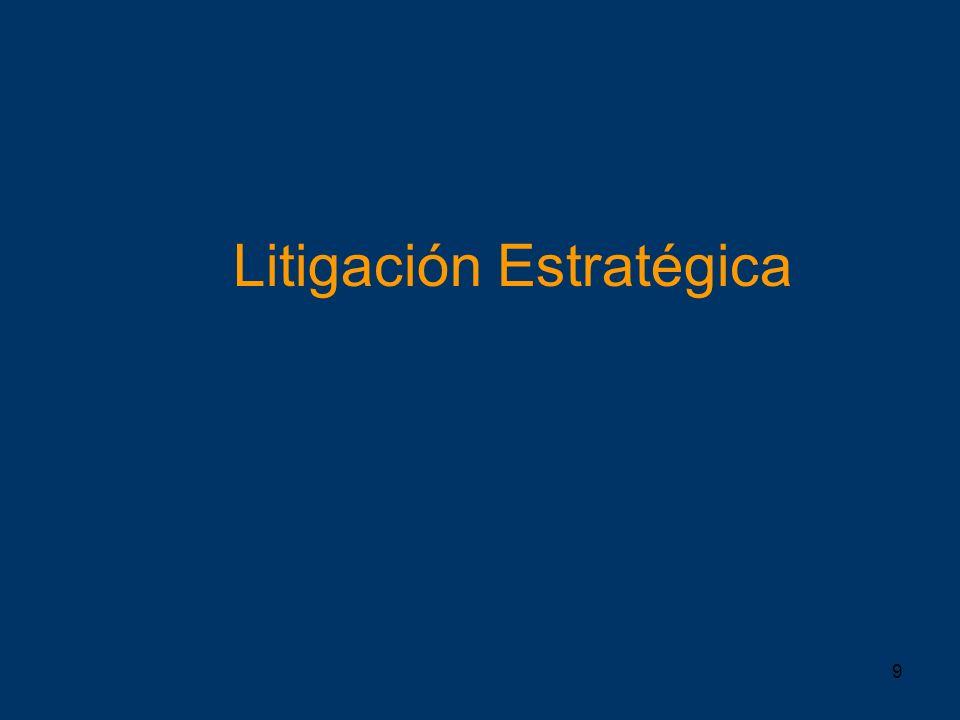 9 Litigación Estratégica