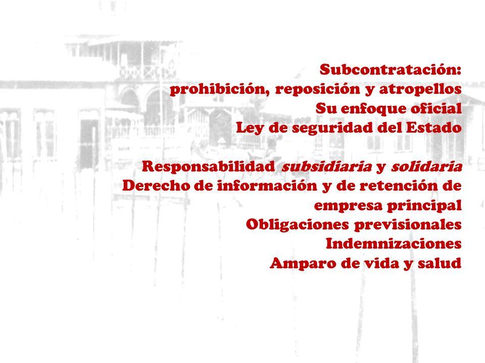 Subcontratación laboral y ley 20.123 alfonso hernández molina www.nuestros-derechos-laborales.blogspot.com alfonsohernandezmolina@yahoo.es