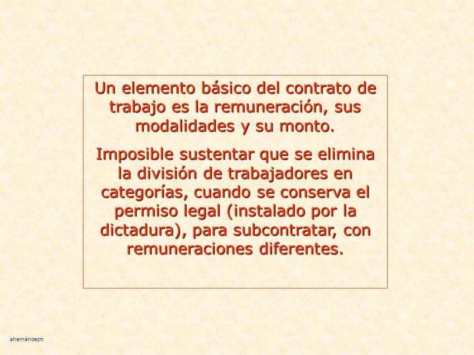 Pese a lo visto, continúa siendo jurídicamente obligatoria igual remuneración por igual trabajo.