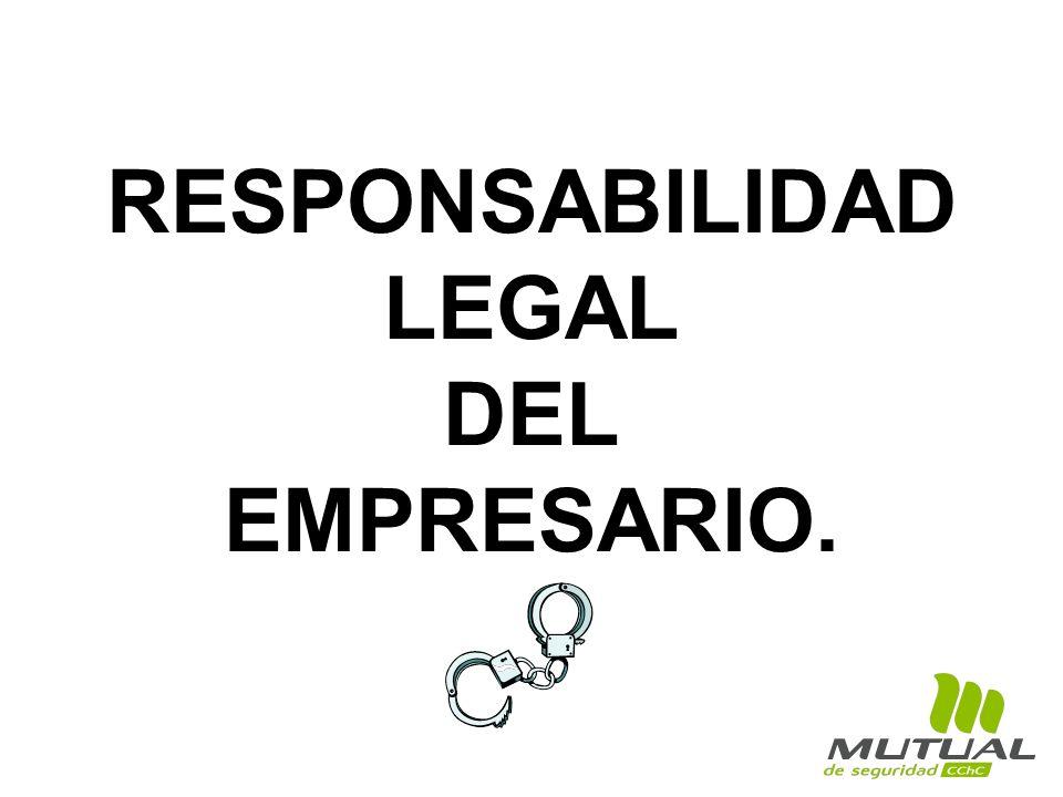 RESPONSABILIDAD LEGAL DEL EMPRESARIO.