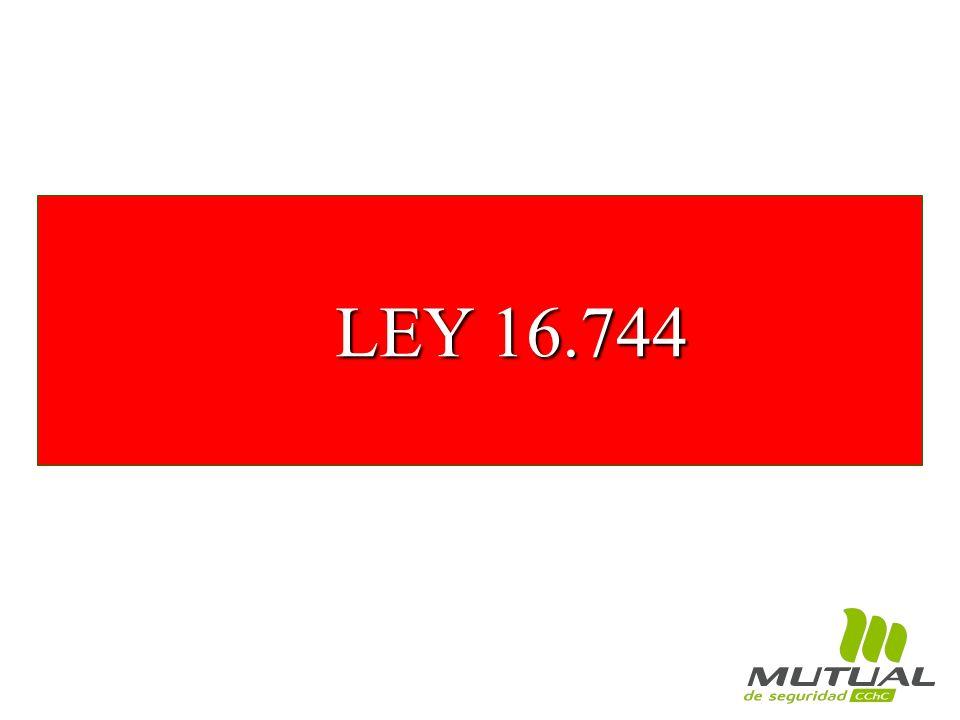 LEY 16.744 LEY 16.744
