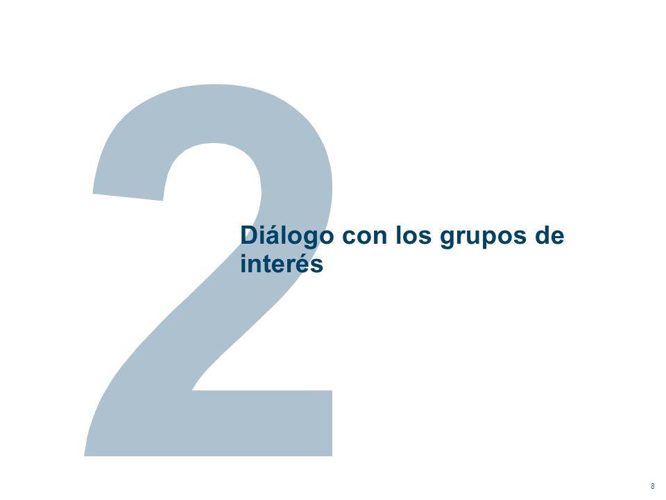 Diálogo con los grupos de interés 8
