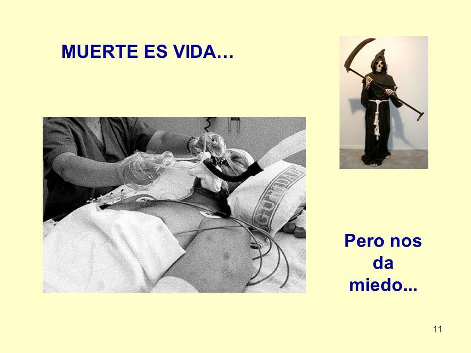 11 MUERTE ES VIDA… Pero nos da miedo...