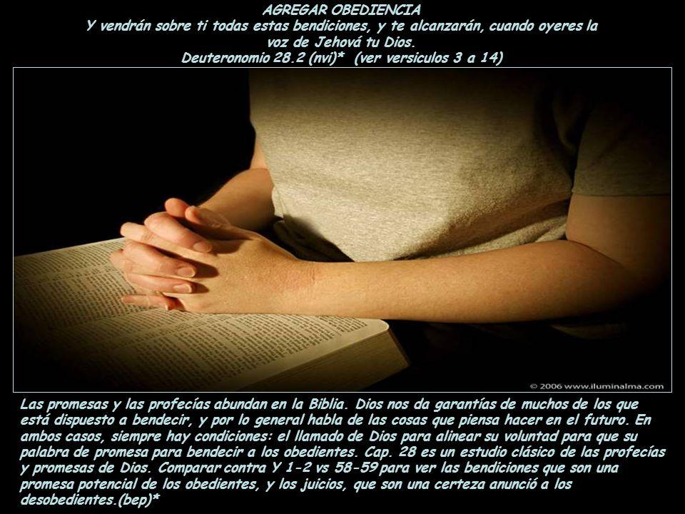 AGREGAR FE ¿Y Dios no defenderá a sus escogidos, que claman a él día y noche, aunque sea longánimo acerca de ellos? Os digo que los defenderá presto.