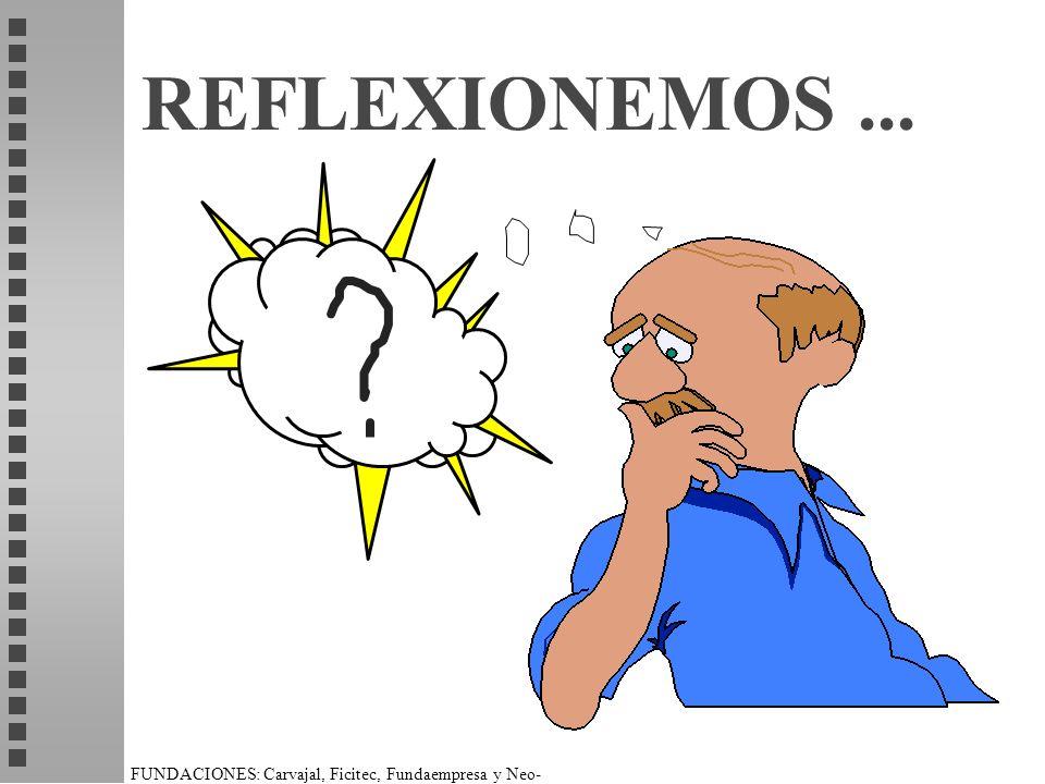 FUNDACIONES: Carvajal, Ficitec, Fundaempresa y Neo- Humanista. REFLEXIONEMOS...