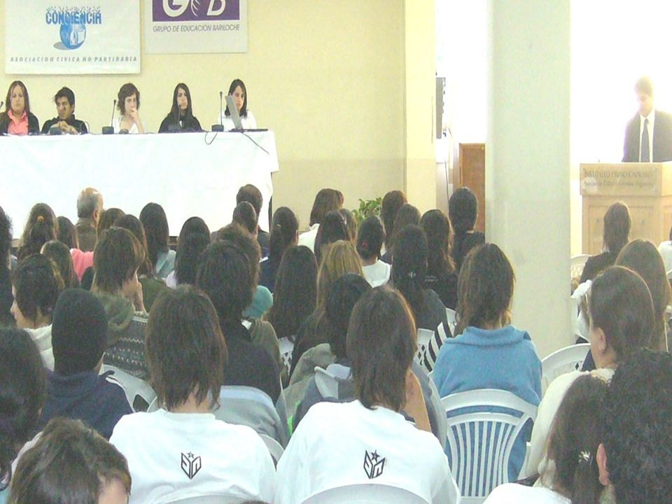 Audiencia Pública Juvenil Nov. 2007
