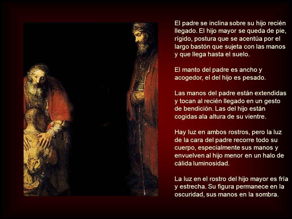 Padre e hijo mayor, según los pintó Rembrandt, tienen mucho en común: Los dos tienen barba y bigote y lucen largas túnicas rojas sobre sus hombros.