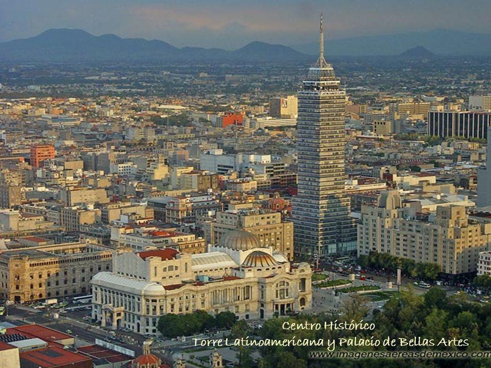Centro Histórico Torre Latinoamericana y Palacio de Bellas Artes