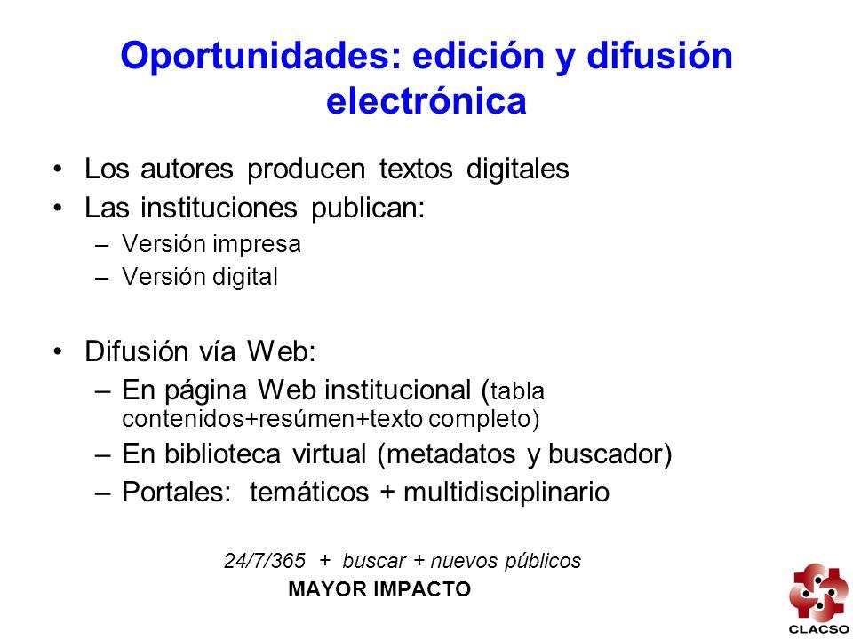 Portal de ciencias sociales - objetivos Fortalecer capacidades para producción y difusión de investigaciones mediante NTIC Difundir en la Web contenidos digitales que muestren la perspectiva latinoamericana acerca de temas claves para nuestra sociedad