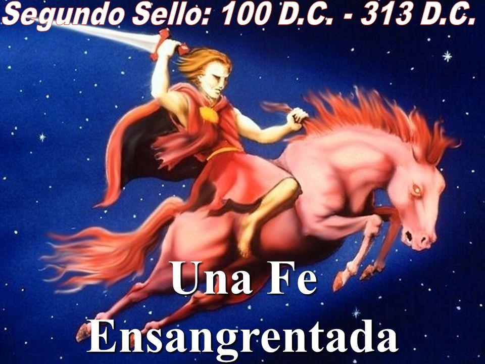 Apocalipsis 6:3-4 Cuando abrió el segundo sello, oí al segundo ser viviente, que decía: Ven y mira Y salió otro caballo bermejo, y al que lo montaba l
