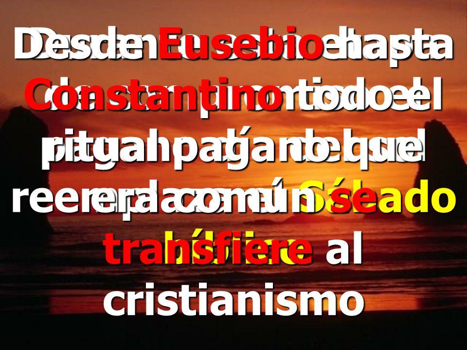 Oh, Señor, tu has creado el mundo por Jesucristo y has puesto el Sábado en memoria de ello. Creencias Apostólicas, B.7, Sec.2