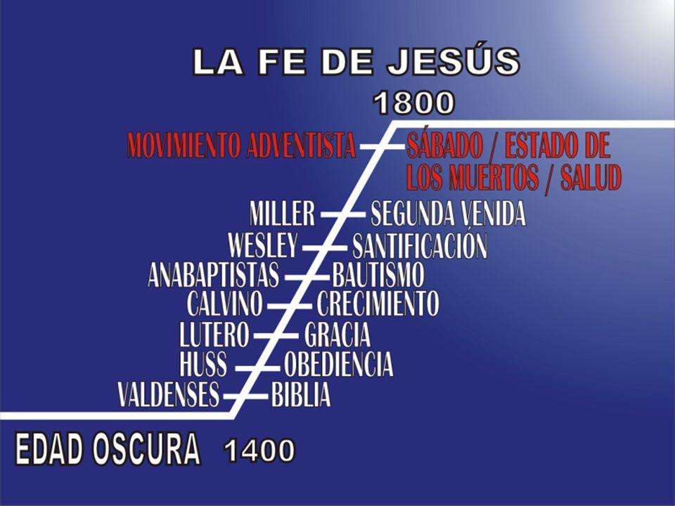 Y Dios levantaría en los últimos días, en el tiempo del fin, un movimiento que: Creería en la Biblia y solamente la Biblia Creería en la salvación por