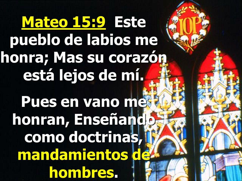 ¿Se dan cuenta porque hay tantas denominaciones en el mundo hoy? Dios fue revelando la verdad poco a poco, pero los hombres se estancaron creyendo en