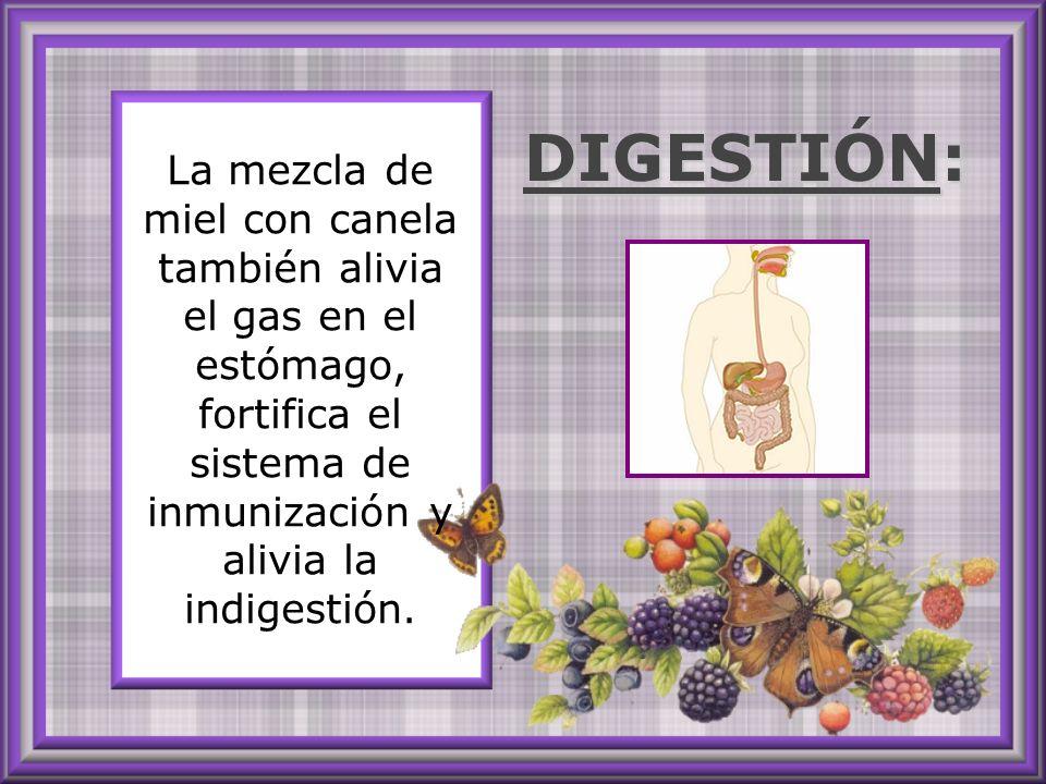 Para curar completamente sinusitis, tos crónica y resfríos comunes o severos, mezclar una cucharada de miel tibia con 1/4 cucharada de canela en polvo y tomar con frecuencia.