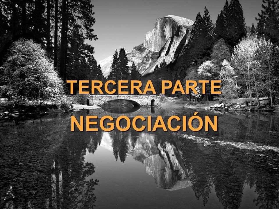 © The O.D.Institute56 TERCERA PARTE NEGOCIACIÓN