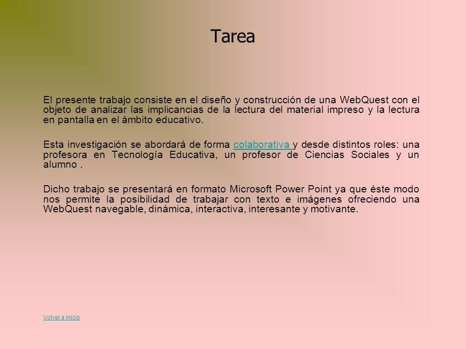 Créditos AlumnaRolLegajo Nº: Lorena LlaríasProfesora en Ciencias Sociales 55431/3 Viviana EssesProfesora en Tecnología Educativa 53646/9 Jovita ElíasAlumno 64149/5 Volver a Inicio