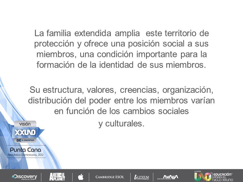 La familia es, por tanto, un fenómeno social, construido históricamente.