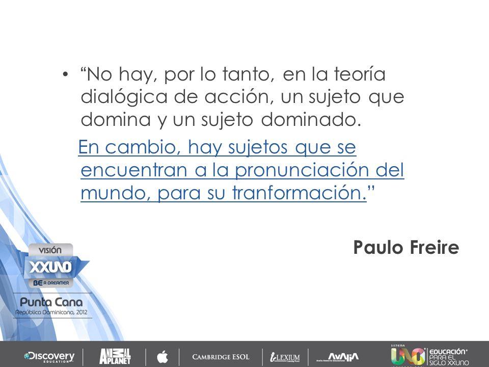 Freire deja muy claro que el diálogo no puede ser un instrumento de persuasión simple, que es un sentido que a menudo es atribuido a él.