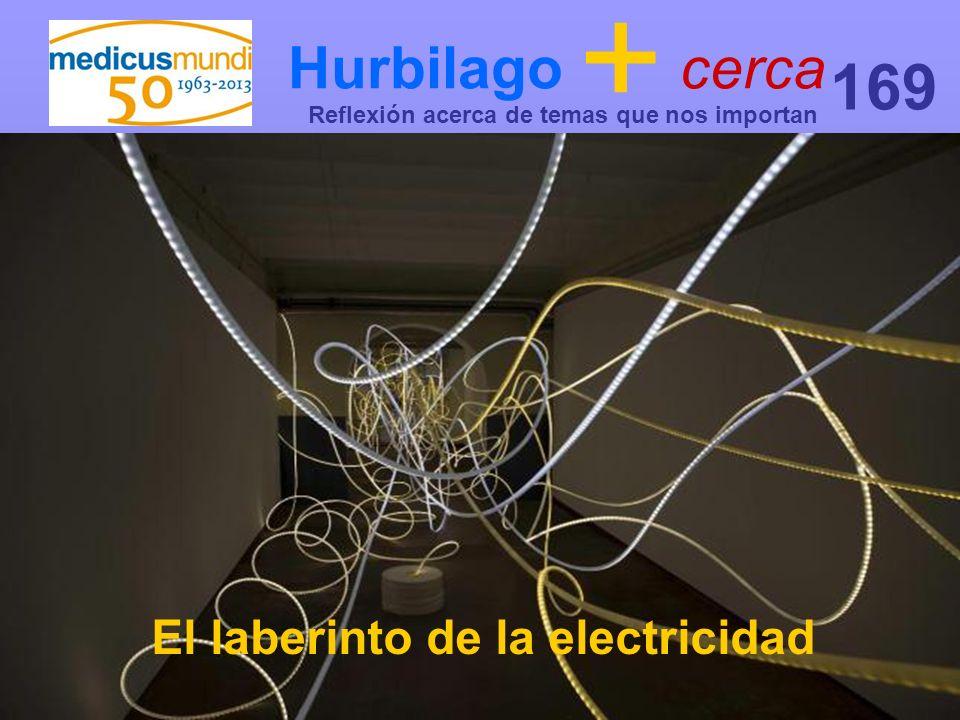 Hurbilago + cerca Reflexión acerca de temas que nos importan 169 El laberinto de la electricidad