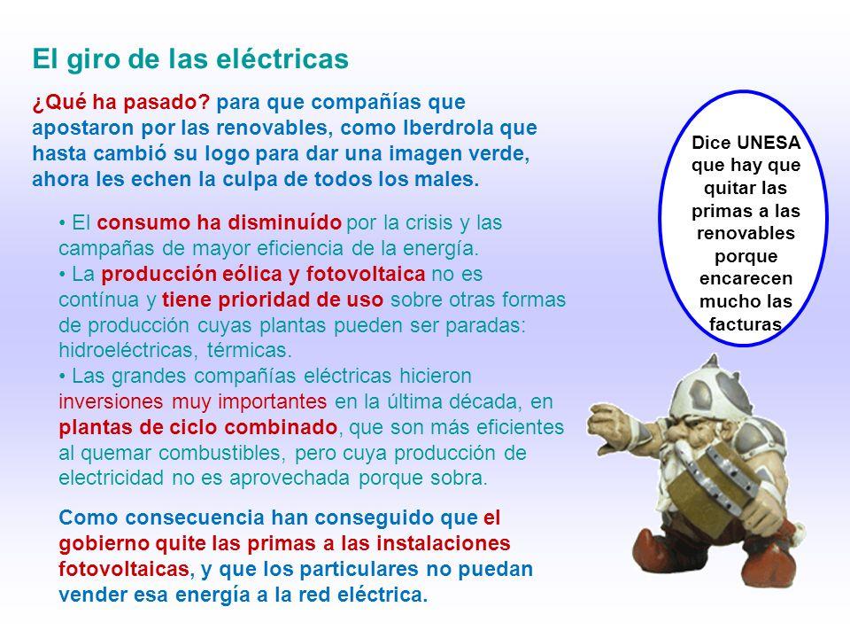 El giro de las eléctricas ¿Qué ha pasado.