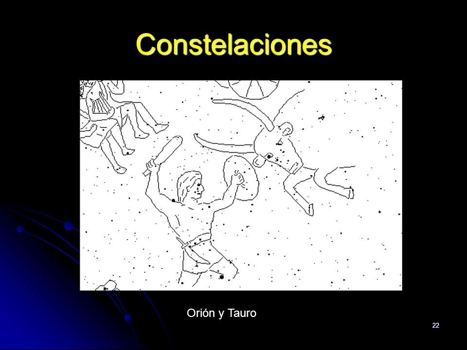 22 Constelaciones Orión y Tauro
