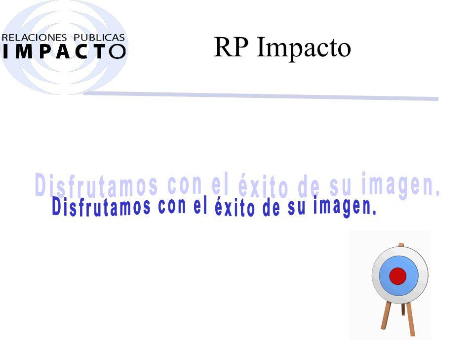 Cómo funciona RP Impacto. Nuestra empresa funciona como una auténtica máquina.