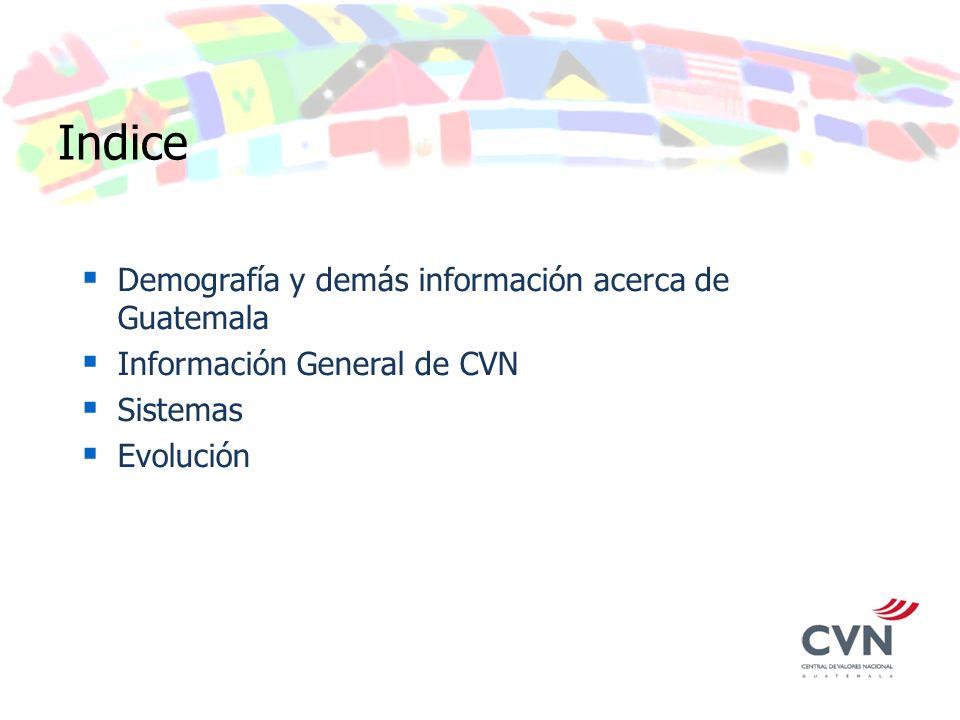 Demografía y demás información acerca de Guatemala Ubicación: Limítrofe con México al Norte; con Belice y El Caribe al noreste; con Honduras y El Salvador en el sureste.