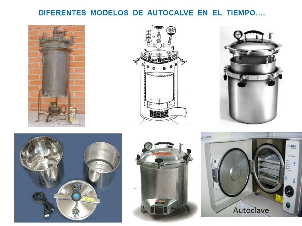 DIFERENTES MODELOS DE AUTOCALVE EN EL TIEMPO….