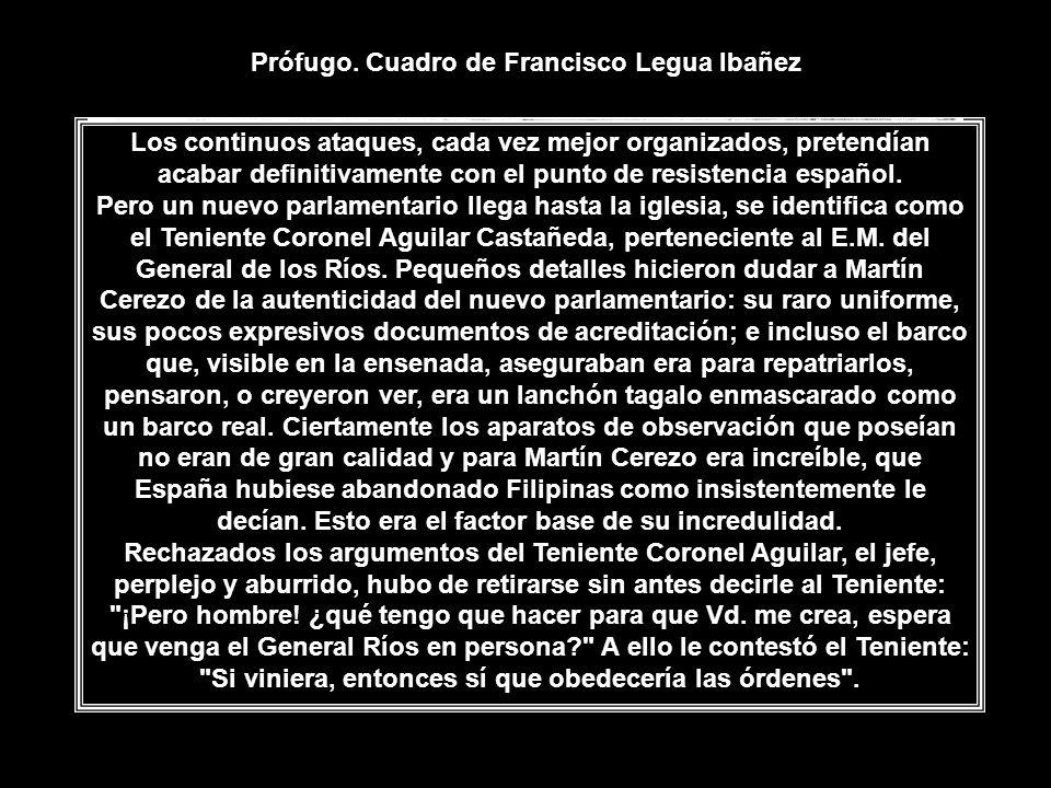 Los continuos ataques, cada vez mejor organizados, pretendían acabar definitivamente con el punto de resistencia español.