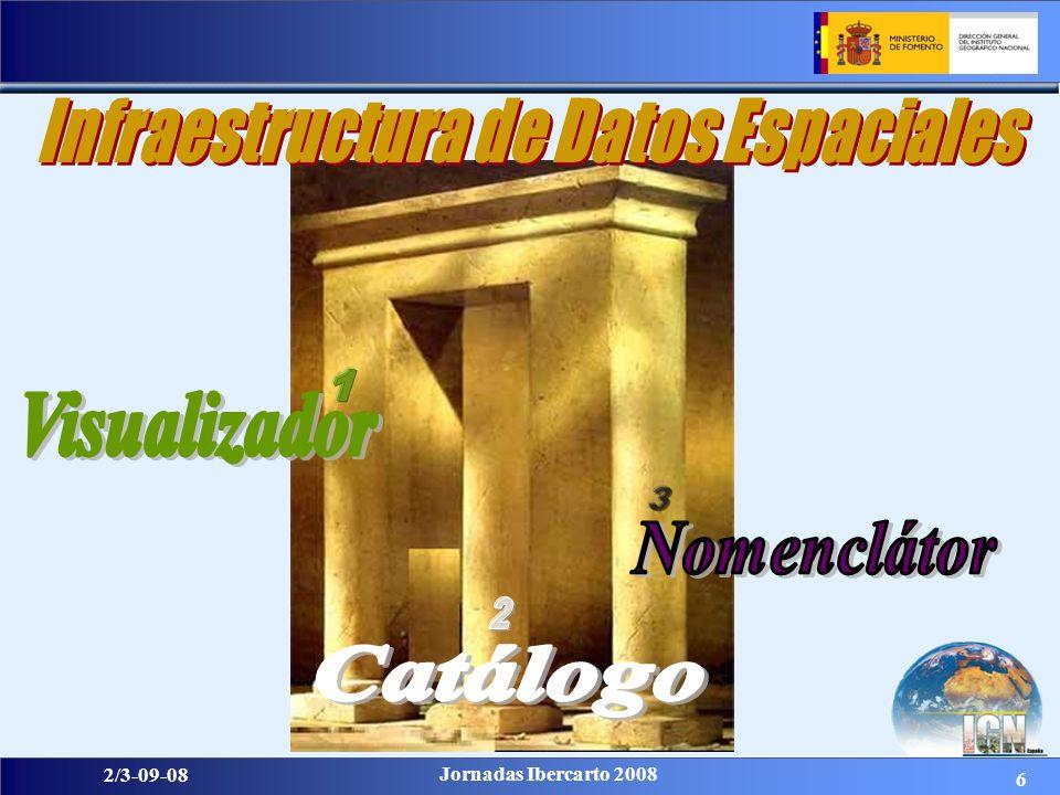 27 2/3-09-08 Jornadas Ibercarto 2008