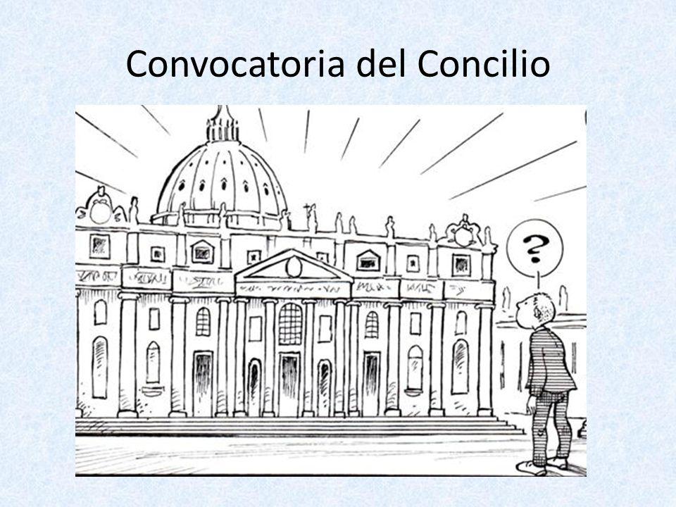 Convocatoria del Concilio