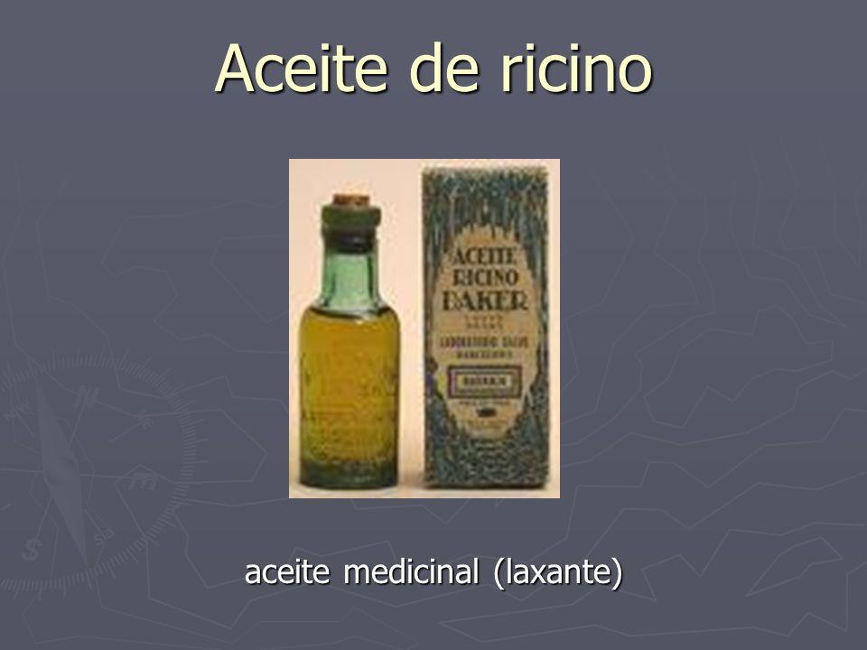 Aceite de ricino aceite medicinal (laxante)