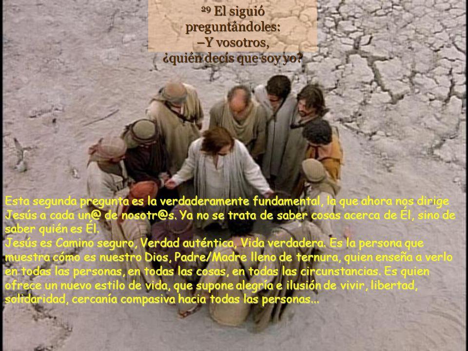 28 Ellos le contestaron: –Unos, que Juan el Bautista; otros, que Elías; y otros, que uno de los profetas. Según la respuesta, las personas vinculan a