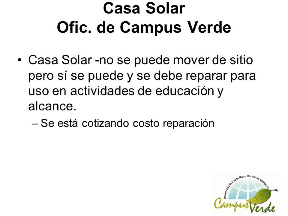 Casa Solar Ofic.