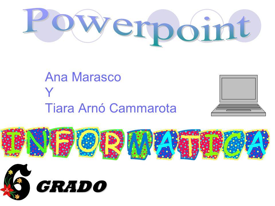 Ana Marasco Y Tiara Arnó Cammarota GRADO