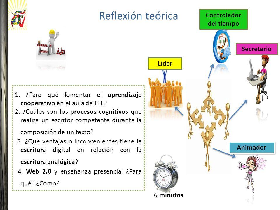 1. ¿Para qué fomentar el aprendizaje cooperativo en el aula de ELE.