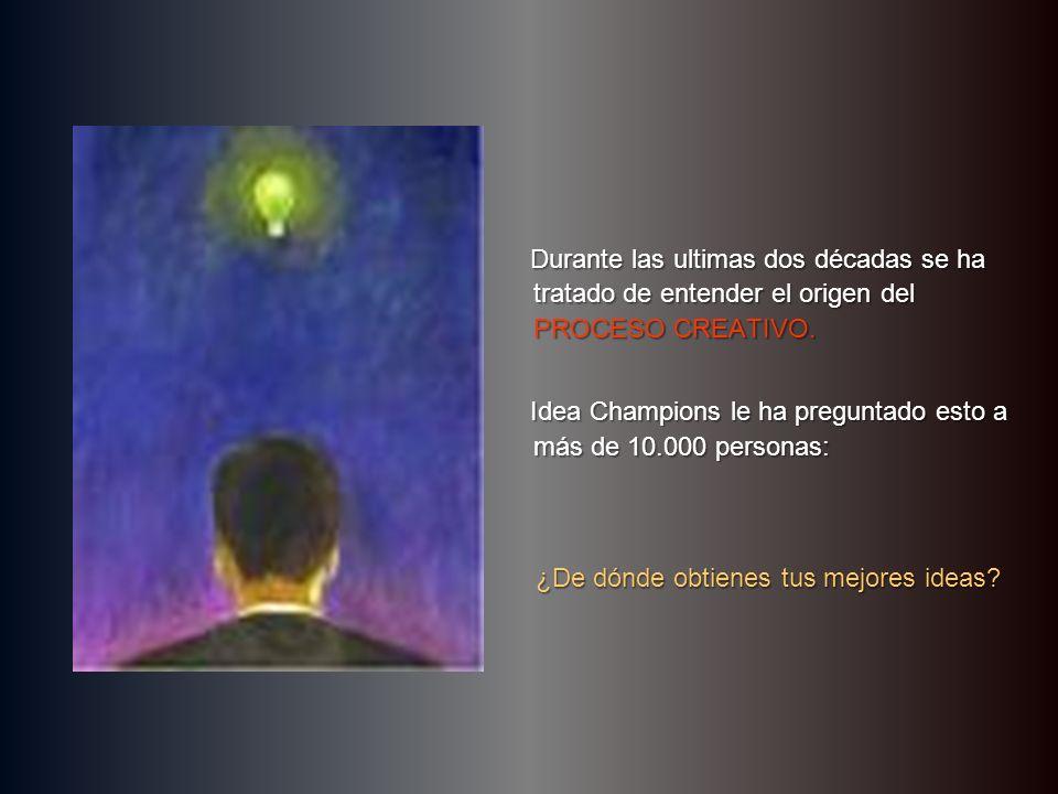 …una mente, dos cerebros… hacer clic para continuar © Idea Champions, 2003