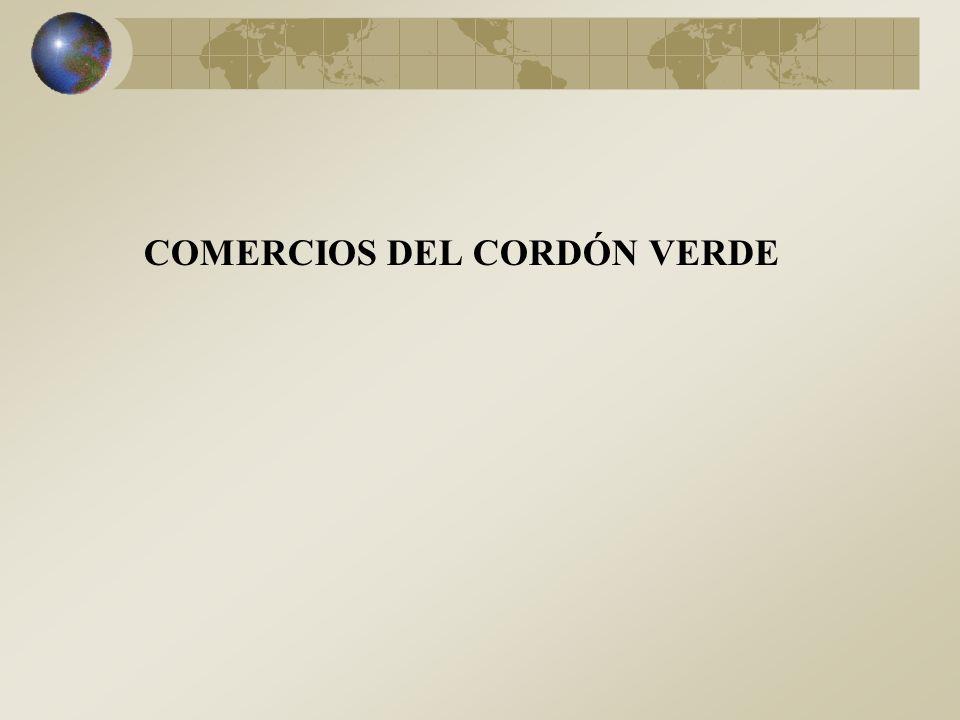 COMERCIOS DEL CORDÓN VERDE