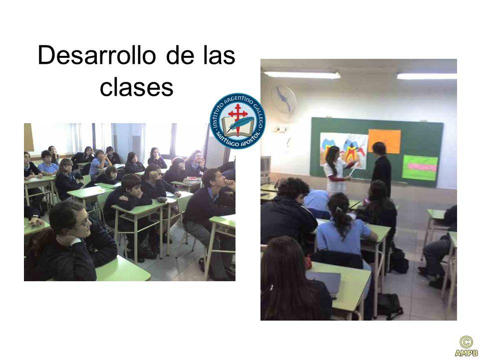 Desarrollo de las clases